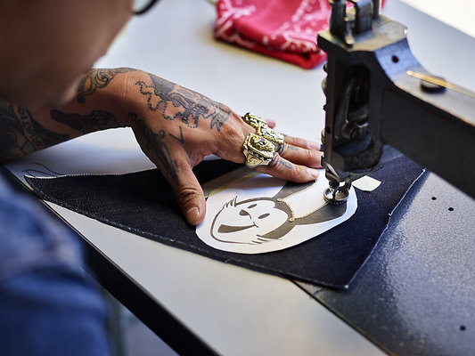 D4 02 Sewing PO 0424 - ORIGINAL PHOTOGRAPHIC WORK